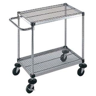 【 業務用 】サイドハンドル付2段 S-4-2-M-10-L:業務用厨房機器の飲食店厨房館
