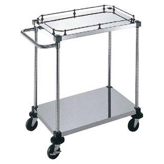 【 業務用 】サイドハンドル付2段 S-4-2-GB-B-9-L:業務用厨房機器の飲食店厨房館