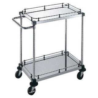 【 業務用 】サイドハンドル付2段 S-6-2-2GB-9-L:業務用厨房機器の飲食店厨房館