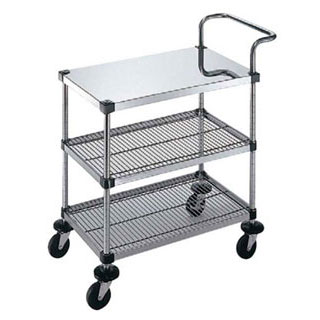 【 業務用 】Lトップハンドル付3段 LT-4-3-B-2M-9-L:業務用厨房機器の飲食店厨房館