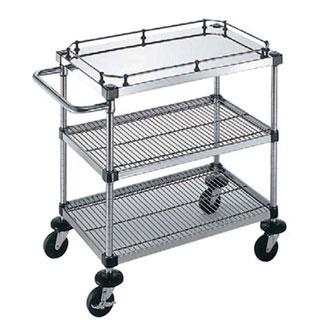 【 業務用 】サイドハンドル付3段 S-4-3-GB-2M-10:業務用厨房機器の飲食店厨房館