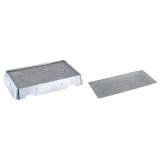 【 業務用 】SW 18-8 氷彫刻飾台用パンチング板 48インチ:業務用厨房機器の飲食店厨房館