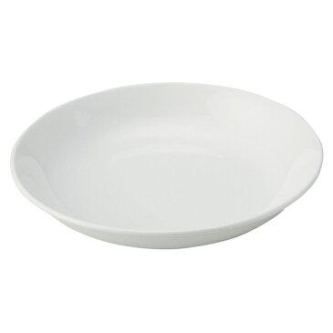 60深皿(主菜) 81QMP6F 60深皿(主菜)M白 【厨房館】