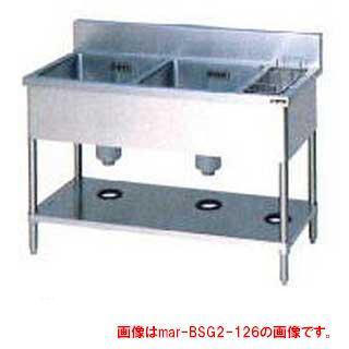 業務用厨房用品, 業務用シンク  BG BSG2-156R 2 2 2