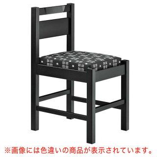 阿山B椅子黒レザー張地:オールマイティー6416シンコール