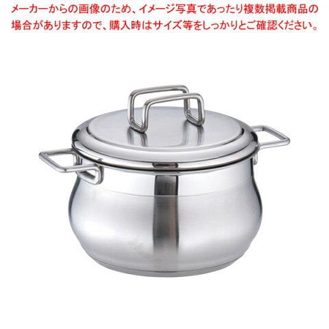 18-10タミー シチューポット(蓋付) 14cm 【厨房館】