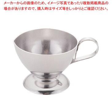 18-8台付ミルクピッチャー 大 (12ヶ入)【 ミルクピッチャー 】 【厨房館】