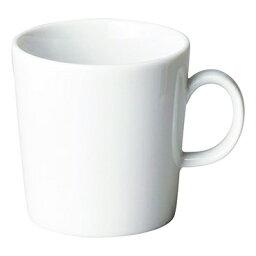 和食器 ヤ586-687 プラット ホワイト マグカップ 【厨房館】