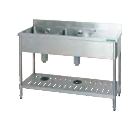業務用厨房用品, 業務用シンク  TX-2SB-1245 2 2 2 2