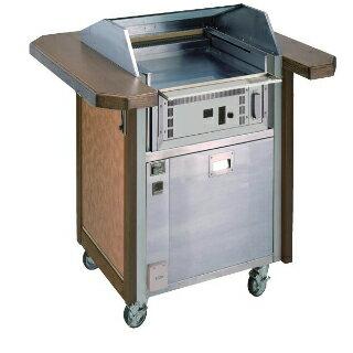 山岡金属工業 ヤマキン ノンダクト式 無煙ロースター 電磁式 ステーキテーブル S-116DGSW35【 人気ステーキプレート 】【 メーカー直送/後払い決済不可 】 【厨房館】