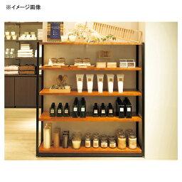 直置き用木製ステージW90cm オークフロマージュ (固定用テープセット) 【厨房館】