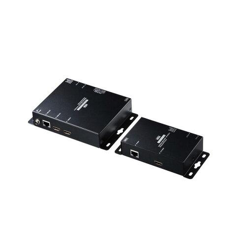 サンワサプライ PoE対応HDMIエクステンダー(セットモデル) VGA-EXHDPOE2