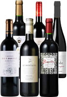 明治屋おすすめ金賞受賞フランス赤ワイン6本セット(配送サイズ宅100)★画像はイメージです。★常温発送致します。