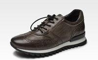 紳士靴ランニングシューズスニーカーAidebaouBROGUESHOEブローグシューズウイングチップレザースニーカー3色614028(男女兼用)