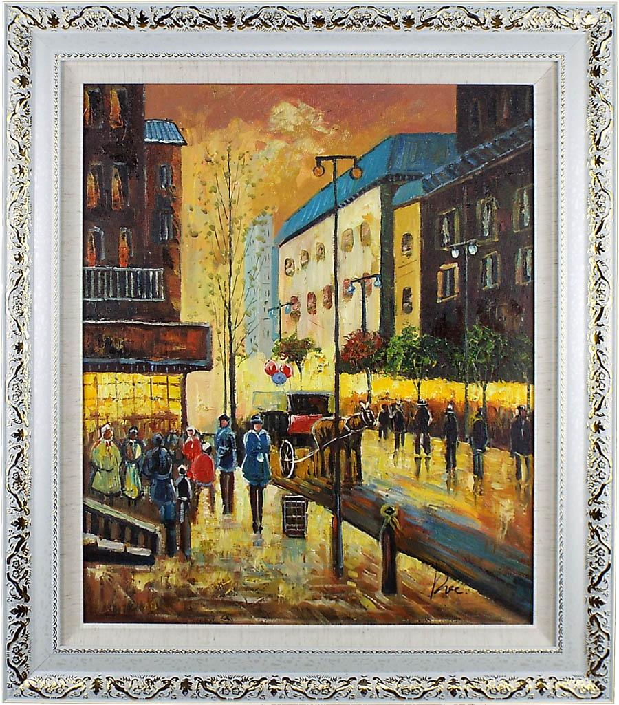 絵画, 油彩画  2075cm65cm