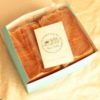 ★ご好評につき10%OFFで販売継続★ 【化粧箱入】おいしい食パン 人気の食パン ピュアクリーム1.5斤&バター デニッシュ プレーン 1.5斤 2個セット【京都の食パン・デニッシュ食パン】(セット選択可)