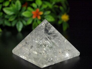 天然水晶 117グラムピラミッド 原石研磨