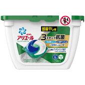 P&Gアリエールリビングドライジェルボール3D本体【18個入り】【洗濯用洗剤】