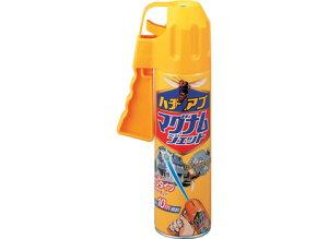 狙いやすいガンタイプのハチ・アブ用ジェット噴射殺虫スプレーハチアブマグナムジェット550ml[...