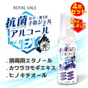【100ml*4本セット】日本製KAJ 抗菌EXジェル 携帯用(迅速に発送対応)