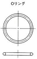 NOK Оリング太さ(1.78mm) AS568-039D (CO4699G0)