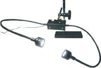 ノガジャパン 製品撮影用LED照明 デュアルビーム(スチールプレート、オンオフマグネット付) LED7000
