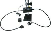 ノガジャパン 製品撮影用LED照明 デュアルビーム(スチールプレート付) 卓上タイプ LED7000P