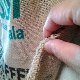 麻袋コーヒー拡大