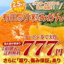 産地直送和歌山県の有田で育った味が濃縮した訳ありこつぶみかん(ひとくちサイズ)2セットで送...
