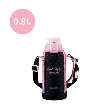 象印:ステンレスクールボトルTUFF(保冷専用)(ピンクブラック)/SD-FA08-BP