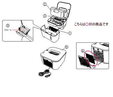 ツインバード部品:吸気フィルター/732041加湿器用〔メール便対応可〕