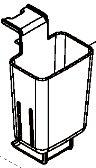 象印部品:コードバスケット/BM272043L-01 布団乾燥機用〔85g〕〔メール便対応可〕