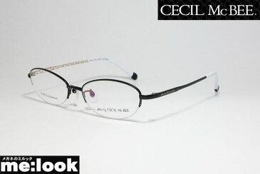 glitter by CECIL McBEE 訳あり グリッターバイセシルマクビー レディース眼鏡 メガネ フレームGCF3508-1-51 度付可マットブラック