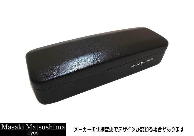 Masaki Matsusima 国内正規品 マサキマツシマメガネ ハーフリムフレームMF1212-4-57 度付可ブラック・グレー