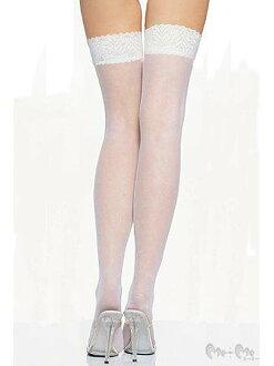 在網路過膝長襪 (白色) ★ [lw7937-1] 和 MIME ☆ 5,400 日元 (含稅) 或更多