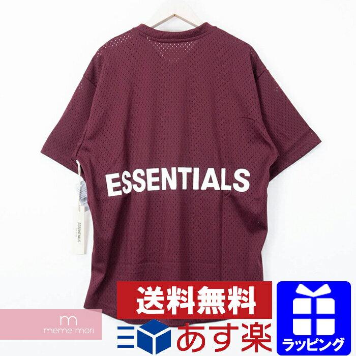 トップス, Tシャツ・カットソー 10OFFP1028FEAR OF GOD ESSENTIALS Mesh Tee Shirt t S 190604