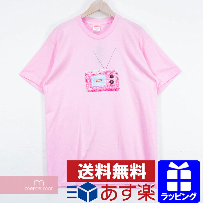トップス, Tシャツ・カットソー 10OFFP1028Supreme 2018SS TV Tee T L 190525