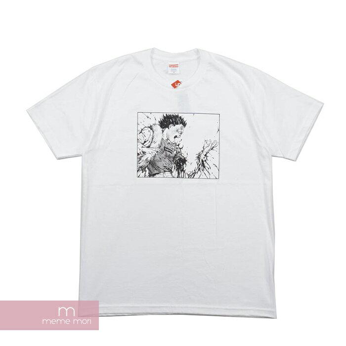 トップス, Tシャツ・カットソー 22SupremeAKIRA 2017AW Arm Tee T 190807gs