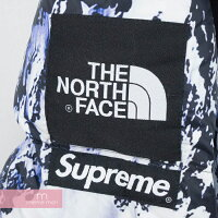 Supreme×THENORTHFACE2017AWMountainBaltoroJacketシュプリーム×ノースフェイスバルトロ雪山ダウンジャケットホワイト×ブルーサイズL
