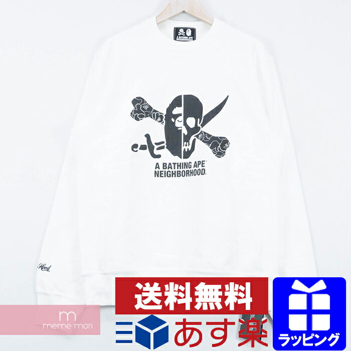 トップス, Tシャツ・カットソー 10OFFP1028A BATHING APENEIGHBORHOOD 2018AW Crewneck XL 191103