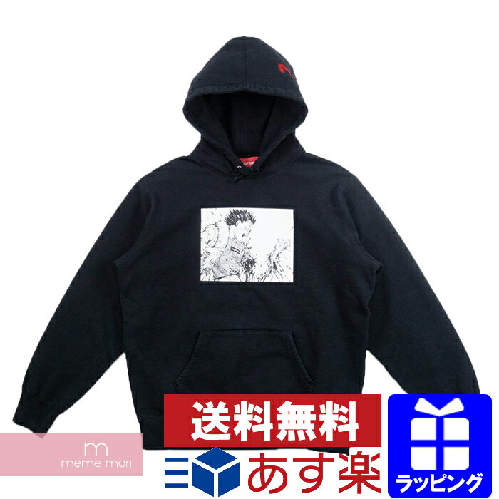 トップス, パーカー SupremeAKIRA 2017AW Arm Hooded Sweatshirt L 191228