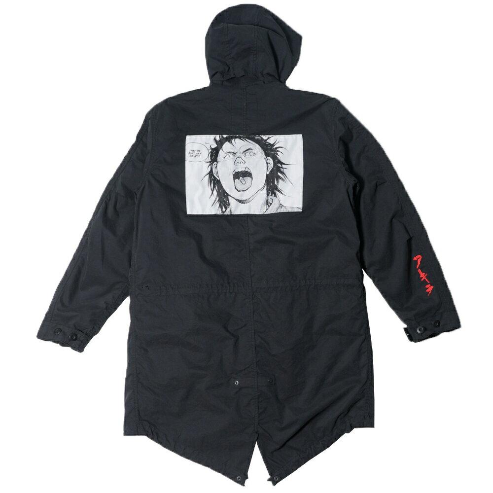メンズファッション, コート・ジャケット 22SupremeAKIRA 2017AW Fishtail Parka M 191103