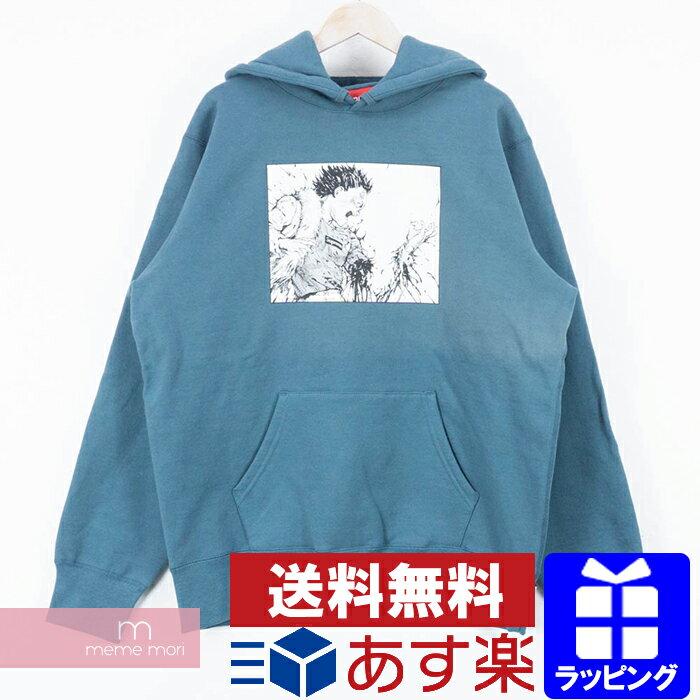 トップス, パーカー 1218SupremeAKIRA 2017AW Arm Hooded Sweat Shirt L 190403gs