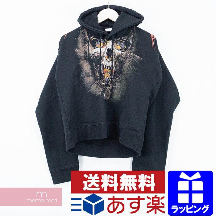トップス, パーカー VETEMENTS 2018SS Misplaced Shoulder Skull Print Sweatshirt WAH18TR8 XS 191128-Bme04me04