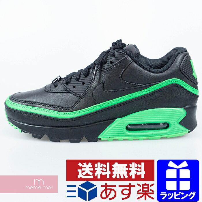 メンズ靴, スニーカー 10OFFP1028NIKEUNDEFEATED AIR MAX 90 CJ7197-004 BlackGreen Spark 90 191229