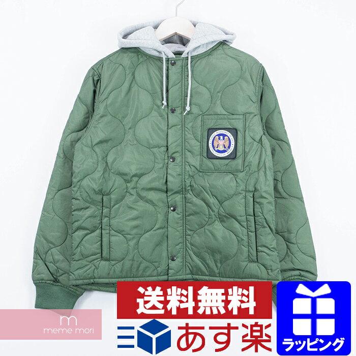 メンズファッション, コート・ジャケット 10OFFP1028Supreme 2017AW Quilted Liner Hooded Jacket S200118