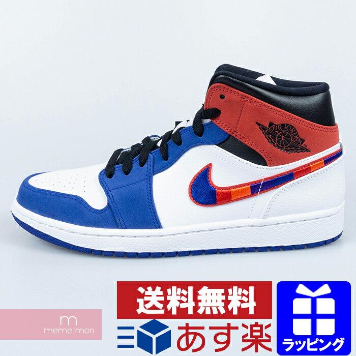 メンズ靴, スニーカー NIKE 2020SS AIR JORDAN 1 MID SE MULTI COLOR SWOOSH 852542-146 1 US9.5(27.5cm)200210me04