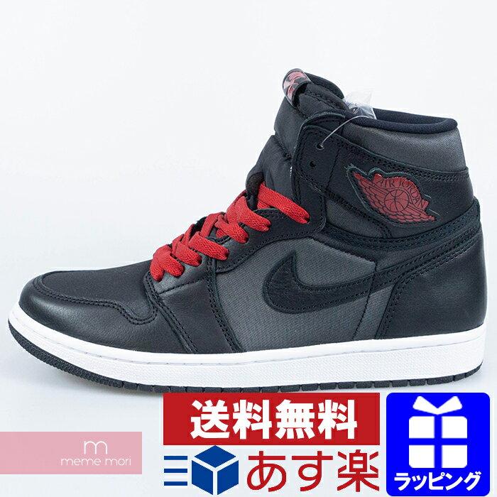 メンズ靴, スニーカー NIKE 2020SS AIR JORDAN1 RETRO HI OG BLACK SATIN 555088-060 1 US9.5(27.5cm)200709