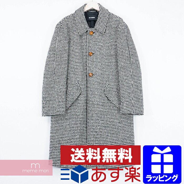 メンズファッション, コート・ジャケット RAF SIMONS 2015AW Big coat with contrast stitches and leather button 46 200308-Bme04