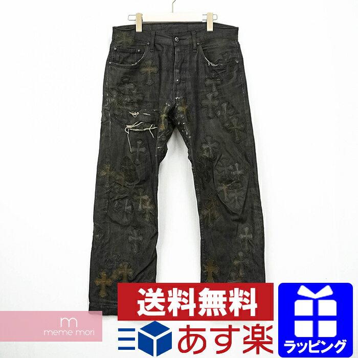 メンズファッション, ズボン・パンツ CHROME HEARTS Denim Pants 501 210116-Bme04